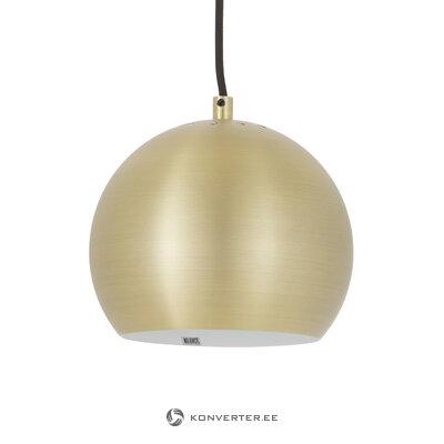Золотой потолочный светильник ball (frandsen) (целый, образец холла)