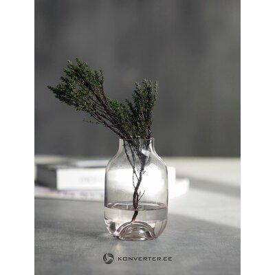 Small glass vase shabergy (house doctor)