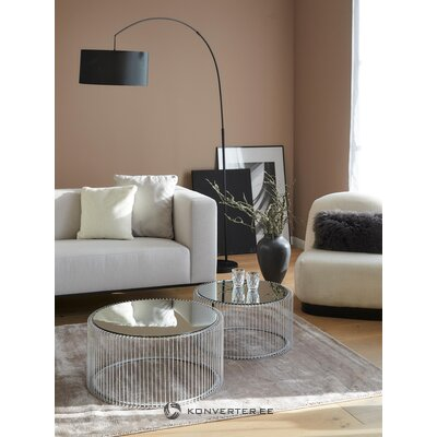 Metalinis kavos staliuko laidas (grubus dizainas)