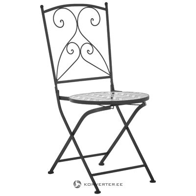 Suunnittelu puutarhatuoli (kiille koristeet)