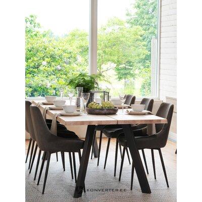 Темно-серо-черный стул sierra (rowico)