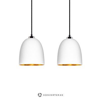 Белый подвесной светильник awa (sotto luce)