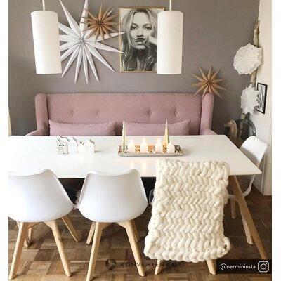 Skandināvu stila pusdienu galds flamy (zago)