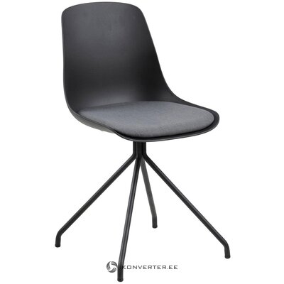 Черный стул ева (акотна)