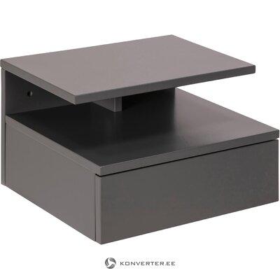 Seinään kiinnitettävä yöpöytä (actona) (kokonaisena, laatikossa)