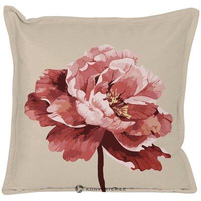 Koristeellinen tyynyliina kukka (adapta sininen)
