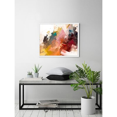 """Mural """"colorful abstract oil painting"""" (liv corday)"""