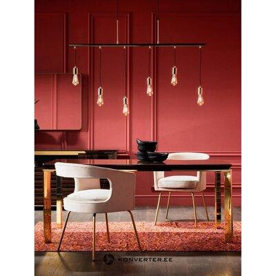 Золотой подвесной светильник (грубый дизайн)