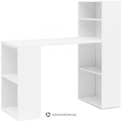 White desk mat (skyport)