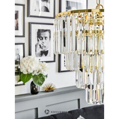Стеклянный потолочный светильник gracja (zumaline) (в комплекте))
