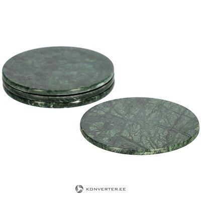 Marble glass bases 4 pcs tressa (la forma)