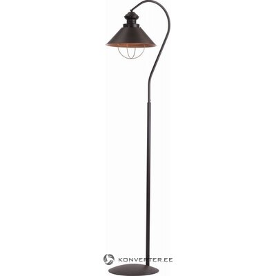 Black floor lamp loft chocolate (nowodvorski)