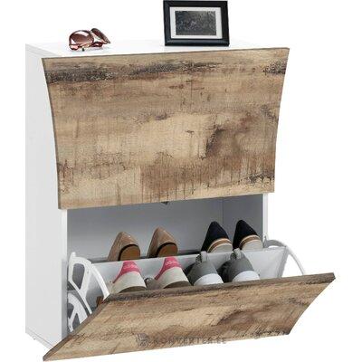 Шкафчик для обуви серый (arco) (целый, зал для образцов)